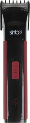 Машинка для стрижки Sinbo SHC 4365 черный/красный (насадок в компл:1шт)